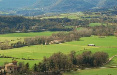 Osona, comarca amb masies disseminades per tot el territori